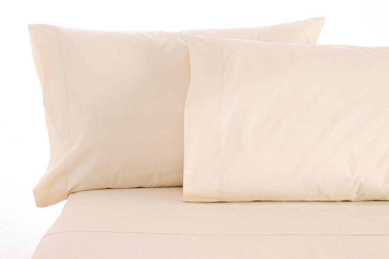 Sleep & Beyond 100% Organic Cotton Pillow Case Set, Standard/Queen