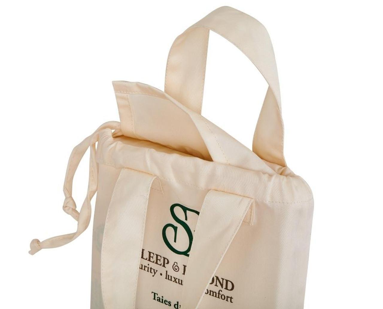 Sleep & Beyond 100% Organic Cotton Pillow Case Set, Standard/Queen Packaging