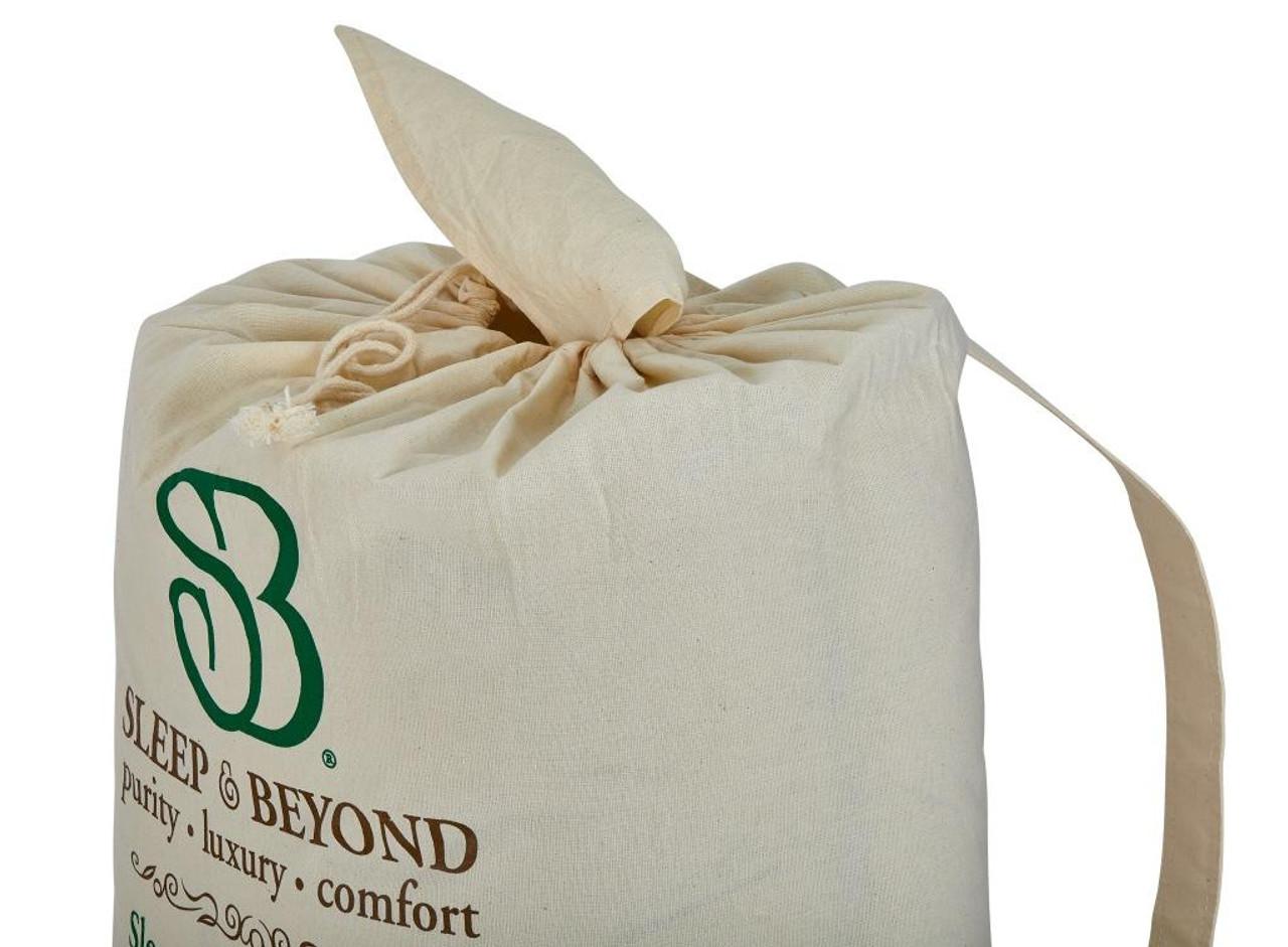 Sleep & Beyond myMerino™ Comforter, Organic Merino Wool Comforter Packaging Close Up