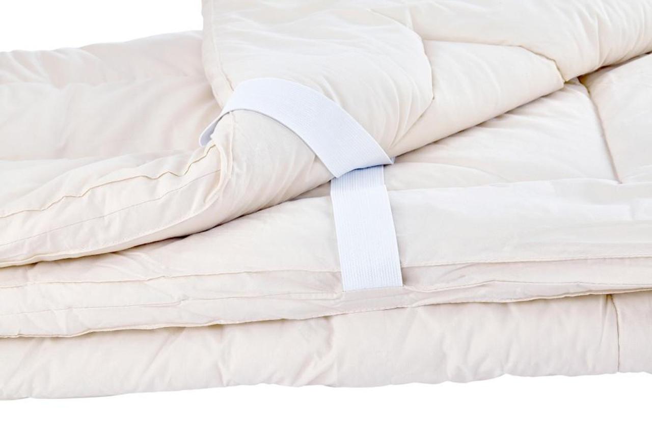 Sleep & Beyond myMerino™ Topper, Organic Merino Wool Mattress Topper Folded