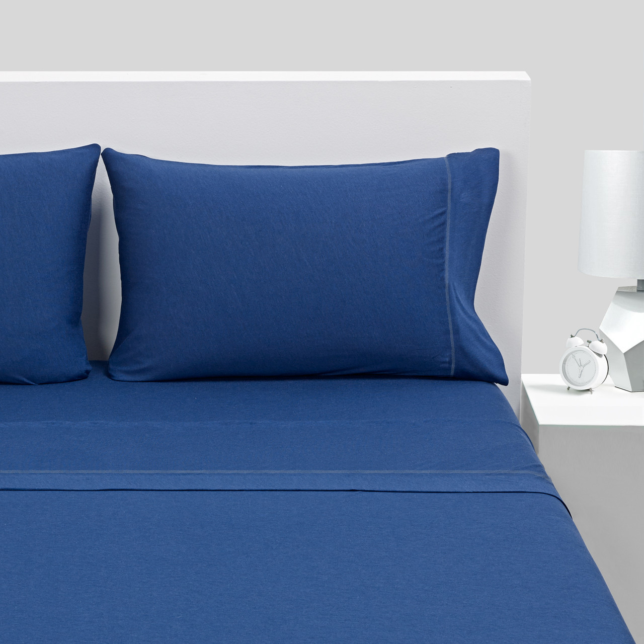Bedgear Hyper-Wool Technology Performance Wool Sheet Set - Navy- King - BGS28AMB3FK, 814874021111