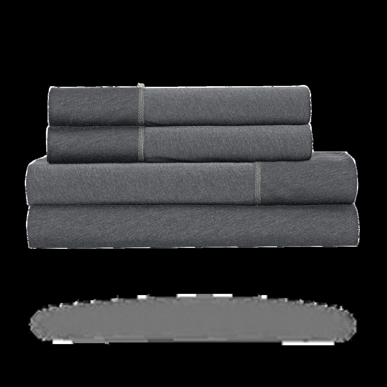 Bedgear Hyper-Wool Technology Performance Wool Sheet Set - Grey - Queen - BGS28AMS1FQ, 814874021265