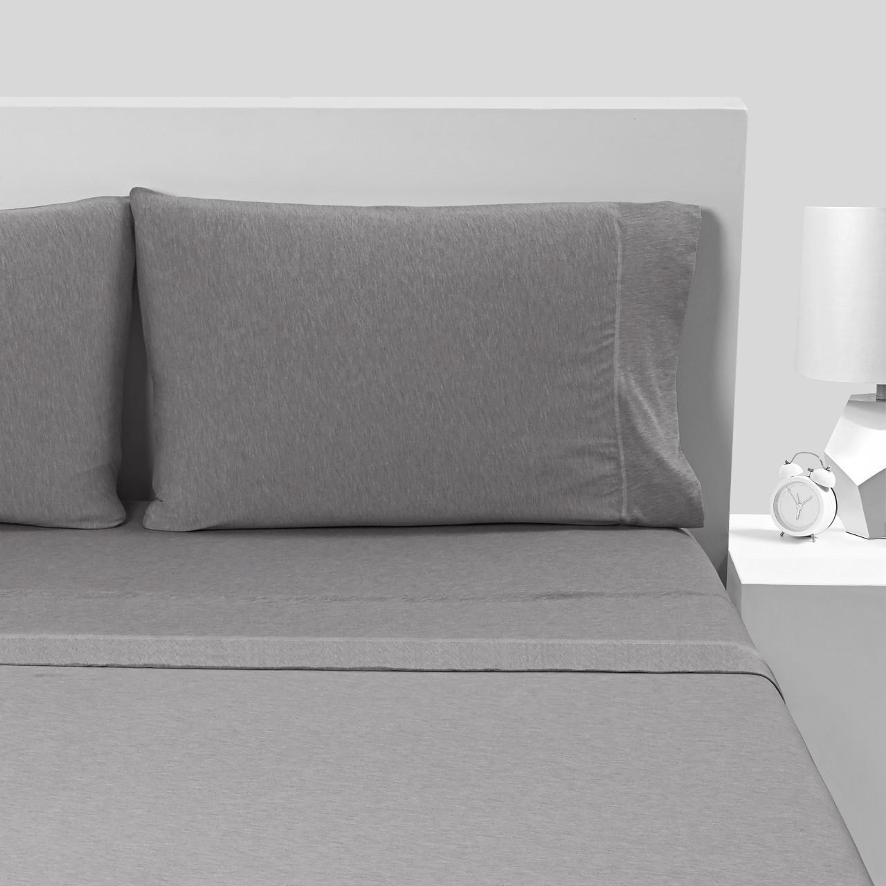 Bedgear Hyper-Wool Technology Performance Wool Sheet Set - Grey - King - BGS28AMS1FK, 814874021272