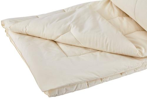 Sleep & Beyond myComforter™ 100% Washable Wool Comforter Folded