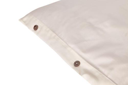 Sleep & Beyond 100% Organic Cotton Duvet Cover Close Up