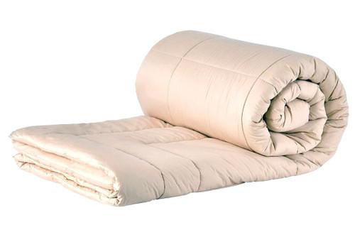 Sleep & Beyond myMerino™ Comforter, Organic Merino Wool Comforter Rolled Up