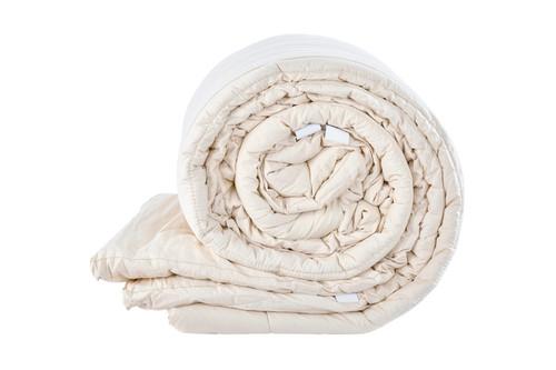Sleep & Beyond myMerino™ Topper, Organic Merino Wool Mattress Topper Rolled Up