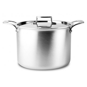 All Clad D3 Stainless Steel 12 Qt Stock Pot W Lid