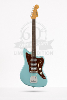 Limited Edition 60th Anniversary Triple Jazzmaster Daphne Blue