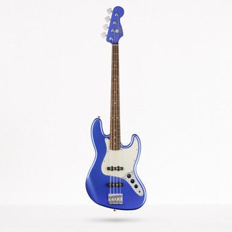 Bajo Electrico Squier Jazz Bass Contemporary, Ocean Blue Metallic
