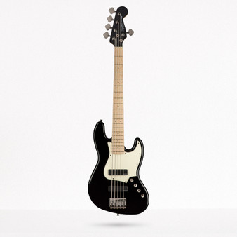 Jazz Bass Activo HH V Contemporary, Maple, Black