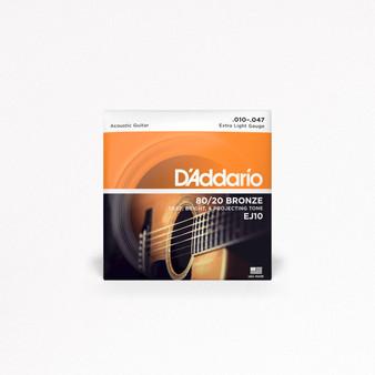 Cuerdas Daddario EJ10, 10-47