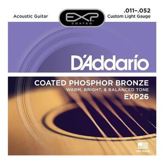 Cuerdas Daddario EXP26