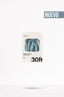 Cable Fender Original Coil 30, Daphne Blue