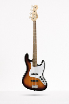 Jazz Bass, Affinity, Laurel, Brown Sunburst