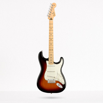 Stratocaster Player, Maple 3 Color Sunburst