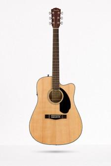 Guitarra Acustica Fender CD60SCE, Natural WN 2827