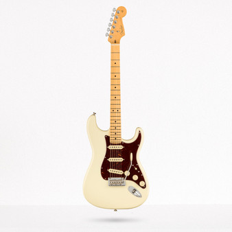 Stratocaster American Professional II, Maple Olympic White