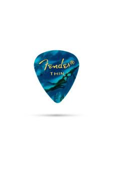 Puas Fender 351 Premium Ocean Turquoise 12PK Thin