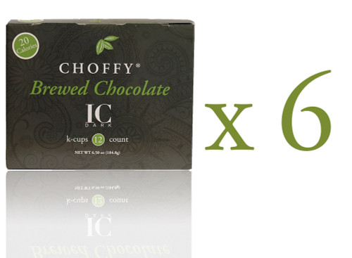 Choffy Brewed Cacao - IC Dark K.Cups Case Pack