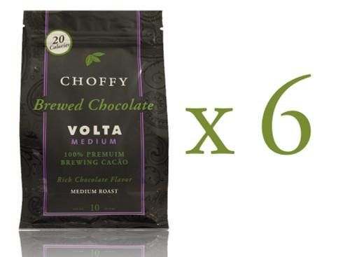 Choffy Brewed Cacao Nibs- Volta Medium 10 oz. Case of 6