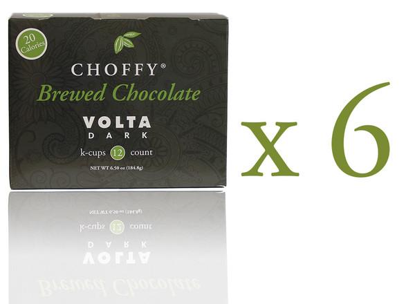 Choffy Brewed Cacao NIbs - Volta Dark K.Cups Case Pack