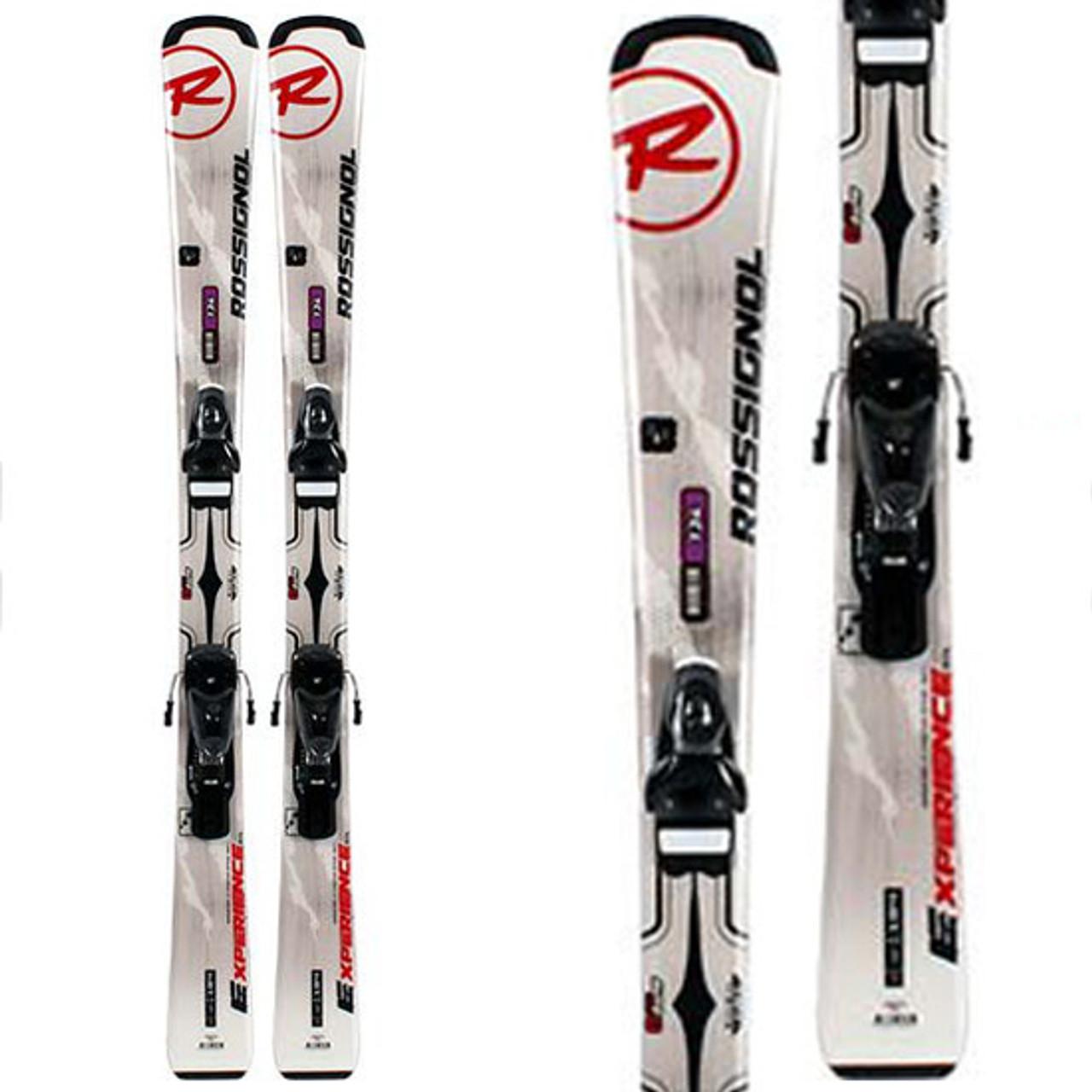 Rossignol Experience 134cm Womens Beginner//Intermediate Skis with Bindings