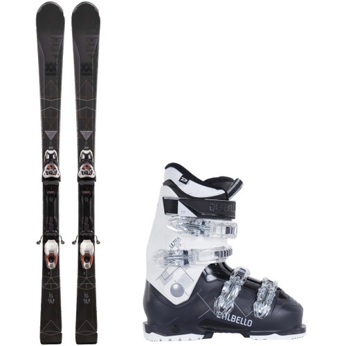 Volkl Flair 76 Women's Complete Ski Package Skis/Boots/Bindings