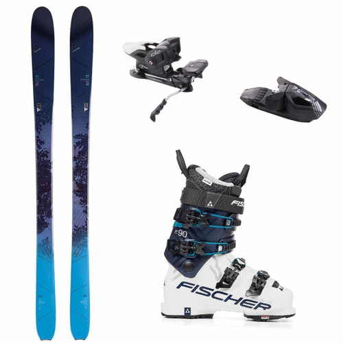 Fischer My Ranger 89 Women's Complete Package Skis/Boots/Bindings