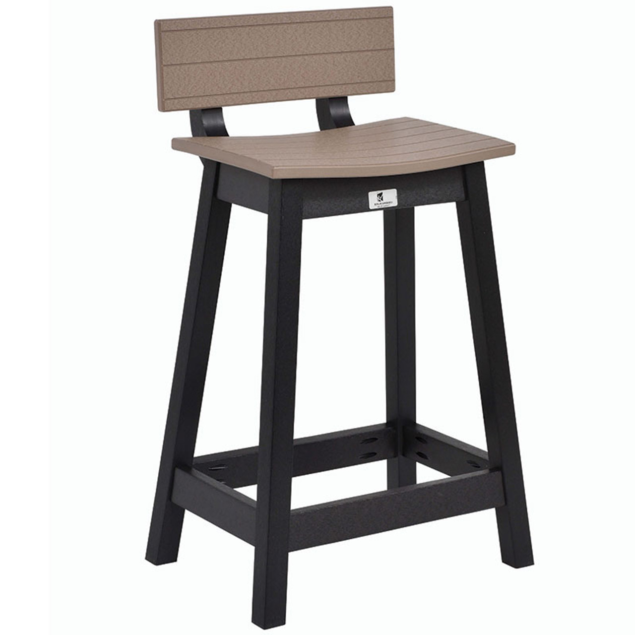 Marvelous Saddle Bar Stool Kauffman Lawn Furniture Andrewgaddart Wooden Chair Designs For Living Room Andrewgaddartcom