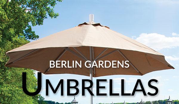 Berlin Gardens Umbrellas