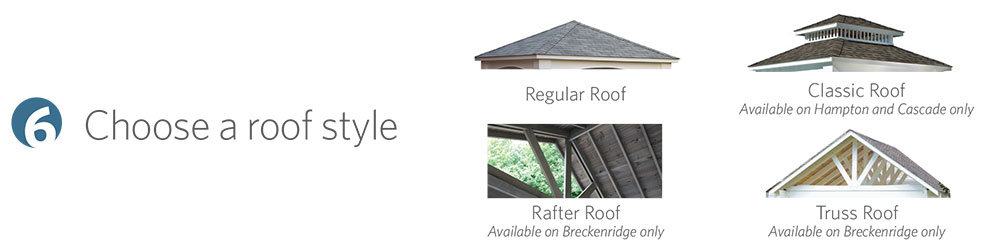 Choose a roof style