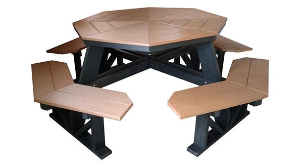 Tables By Hillside Lawn