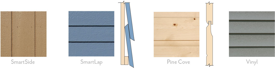 JDM Siding options
