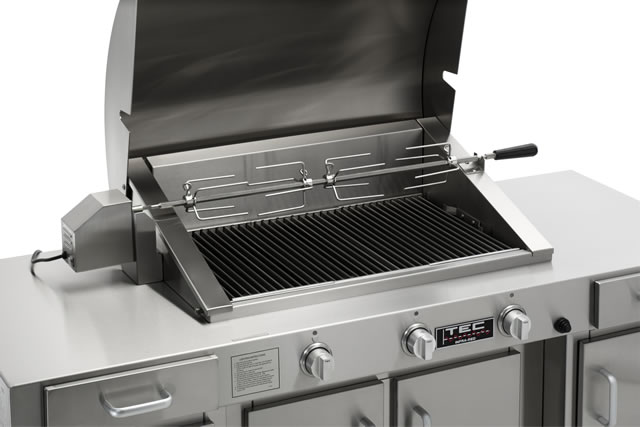 Rotisserie for Sterling III & Sterling G3000 | TEC GRILLS Accessory