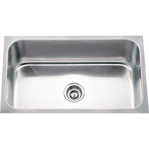 Stainless Steel (18 Gauge) Rectangular Utility Sink