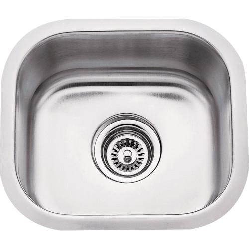 Stainless Steel (18 Gauge) Bar Sink