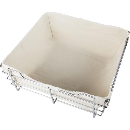Cloth Tan Canvas Basket Liner for POB1-14296 Basket