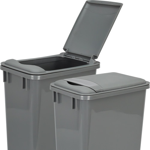 Grey Gray Lid for 35 Quart Plastic Waste Container