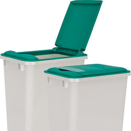 Green Green Lid for 50 Quart Plastic Waste Container