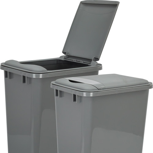 Grey Gray Lid for 50 Quart Plastic Waste Container