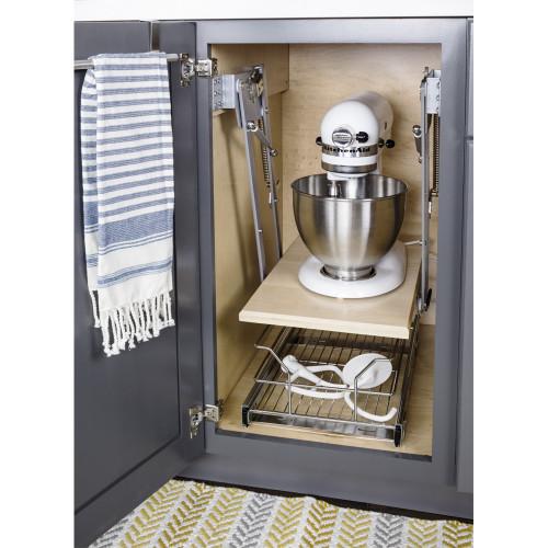 Chrome Soft-close Mixer/Appliance Lift
