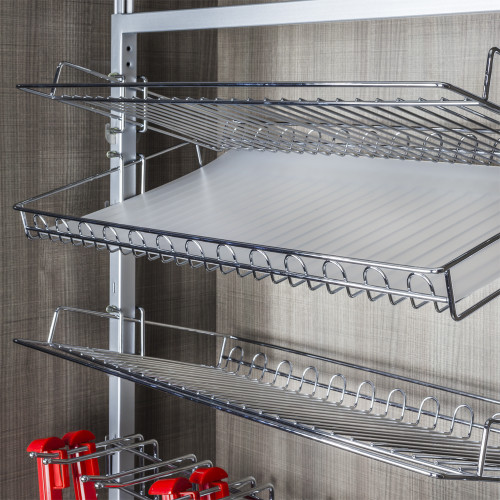 Matte  Rotating Shoe Rack Plastic Liner