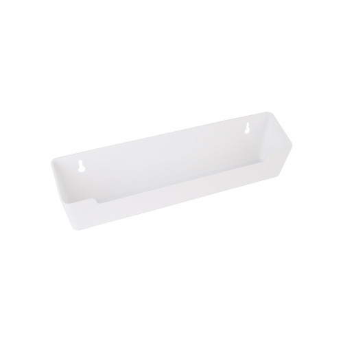 """White 11-11/16"""" Plastic Tipout Replacement Tray"""