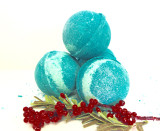 Christmas Mistletoe Bath Bomb
