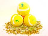 Uplifting Lemongrass Bath Bomb