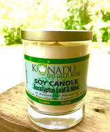 Eucalyptus Leaf & Mint  Soy Candle