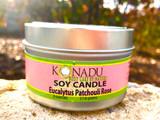 Eucalyptus  Patchouli and Rose