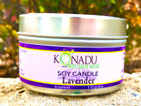 Lavender Tin Soy Candle