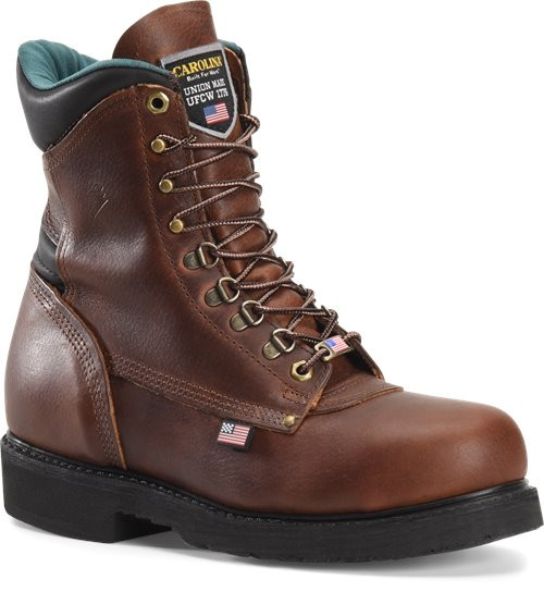 Sarge Hi 8 Inch Plain Toe Boot 809